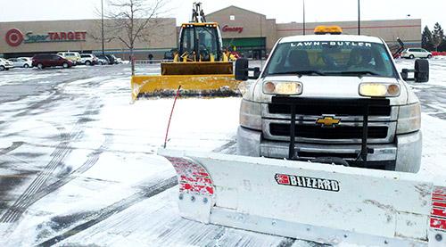 snow blowing trucks at target